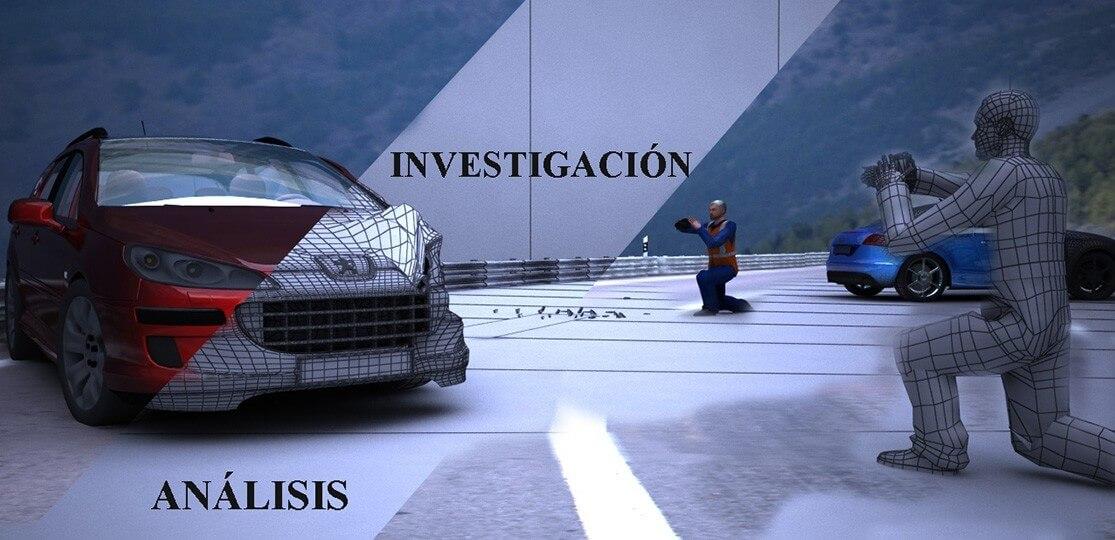 Especialistas en investigación y reconstrucción de accidentes