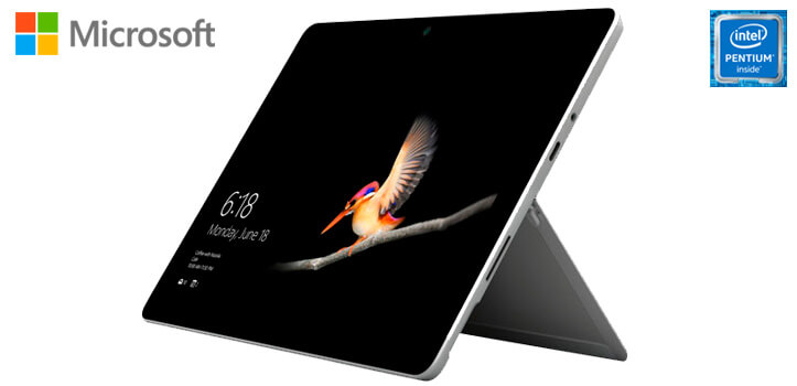 Microsoft Surface GO con Windows 10 Pro y Office 2019