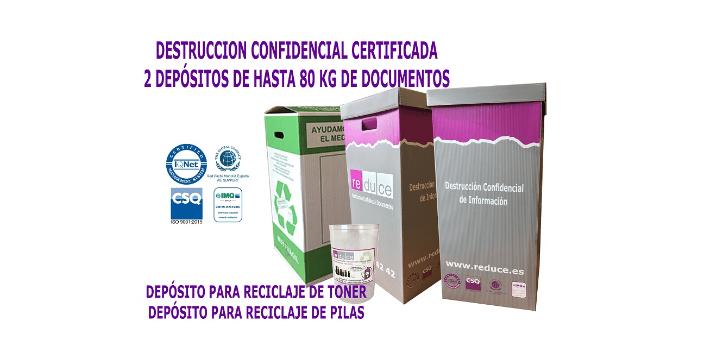 Destrucción de documentos, puntual y periódica