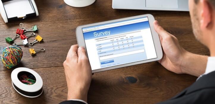Encuesta online para tus clientes