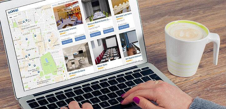 Reserva tu espacio de trabajo por horas en los mejores hoteles