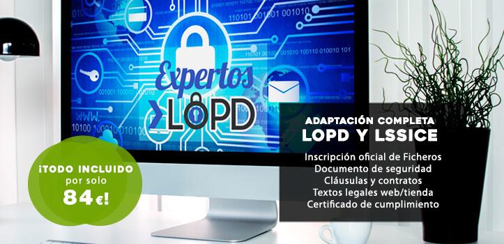 Adaptación LOPD Profesional para todo tipo de actividades