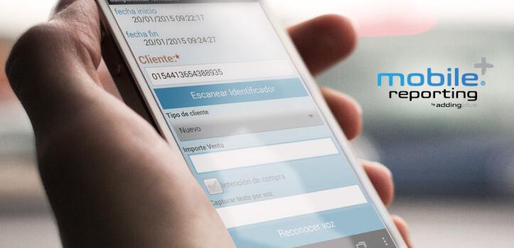 Mobile Reporting - Programa de gestión comercial desde el Mobil