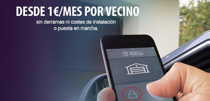 Videovigilancia para comunidades de vecinos. ¡1er mes gratis!