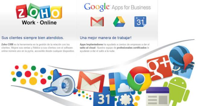 Google Apps y Zoho para tu negocio