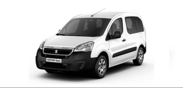 Autodisa - Renting Peugeot Partner Tepee BlueHDI