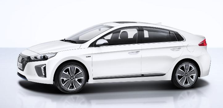 Renting de Hyundai Ioniq Híbrido