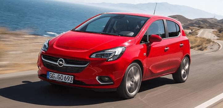 Renting de Opel Corsa GLP