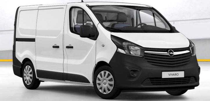 Renting de Opel Vivaro Isotermo