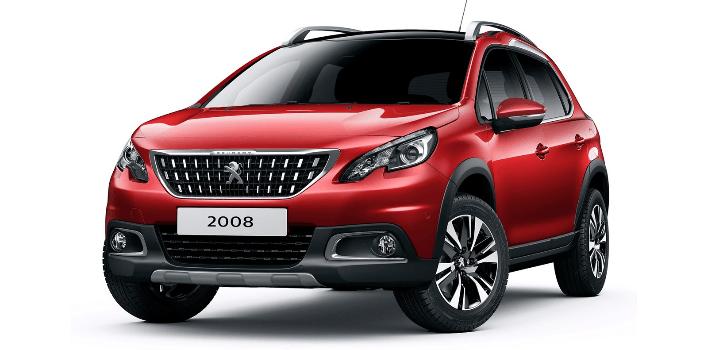 Renting de Peugeot 2008