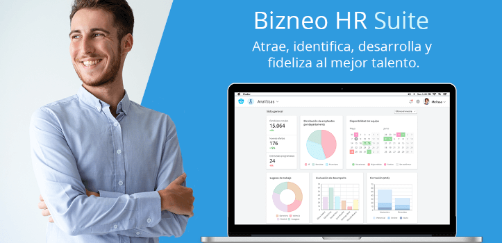 Software de recursos humanos Bizneo HR Suite
