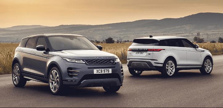 Renting de Range Rover Evoque