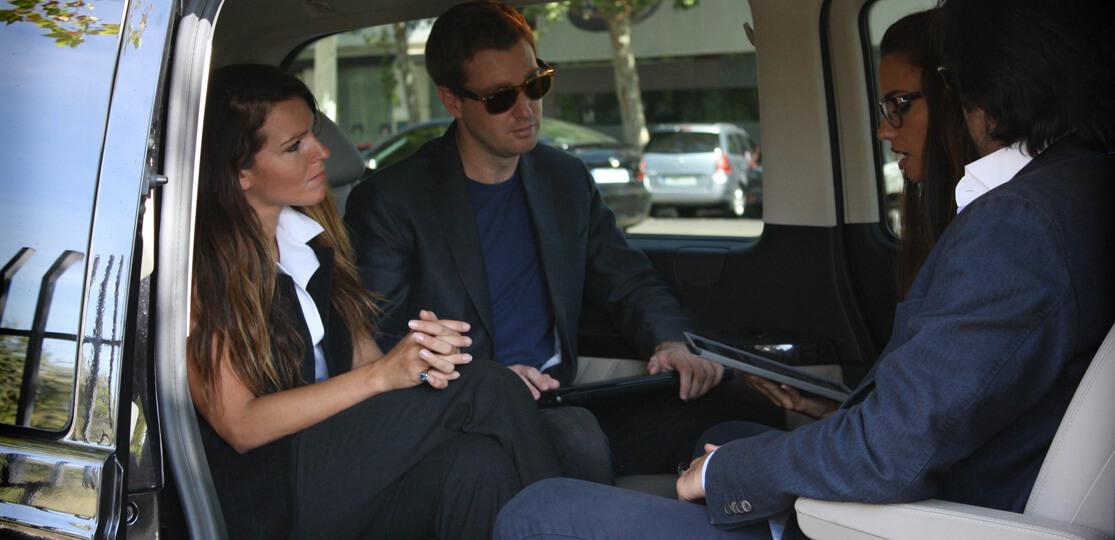 Vehículos ejecutivos con chófer