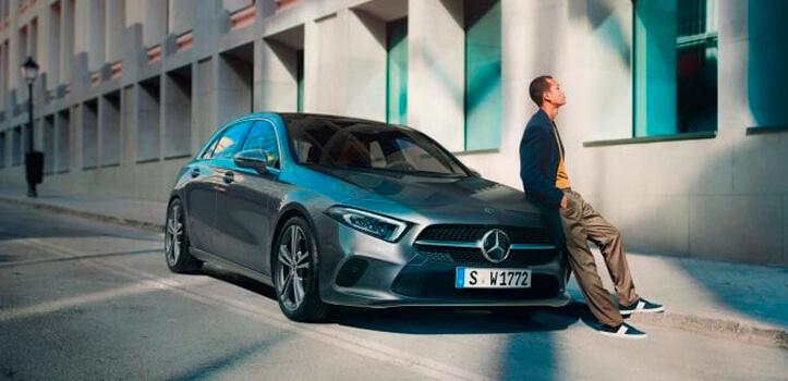 Renting Mercedes Clase A 180 d Compacto