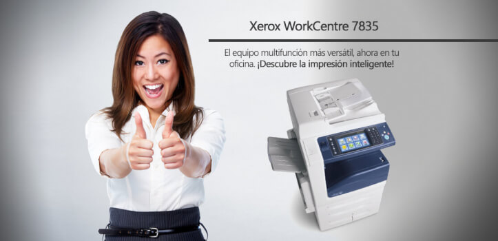 Multifuncion Xerox A3 Color WC 7835i