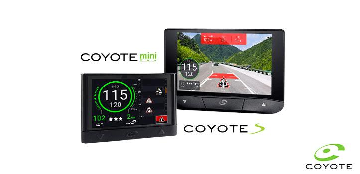 Asistente de ayuda a la conducción Coyote Mini y Coyote S