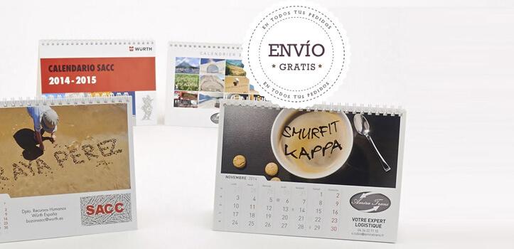 Calendarios personalizados online