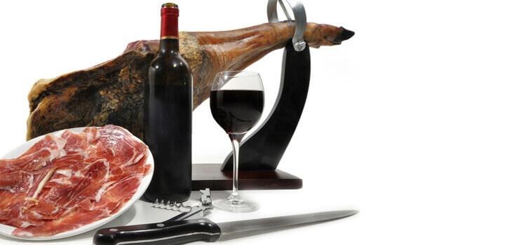 Jamones, vinos y licores para regalar