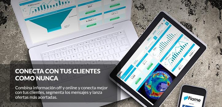 Incorpora un Flame Analytics en tu comercio o negocio