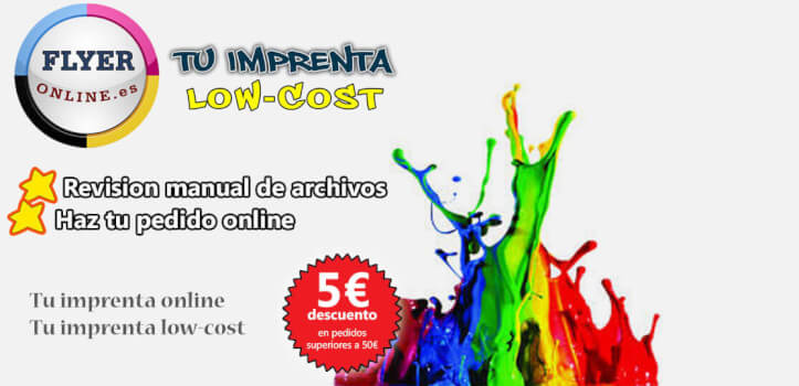 Imprenta online low cost