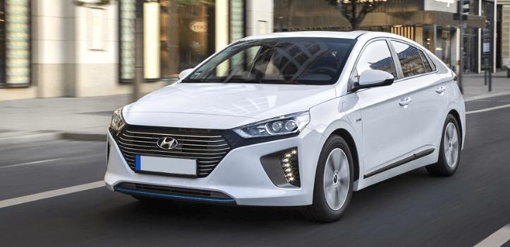 Renting de Hyundai Ioniq