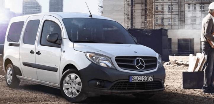 Renting de Mercedes-Benz Citan Tourer