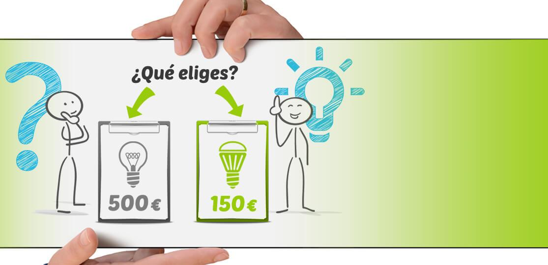 Estudio energético GRATIS y cambio a LED a coste cero