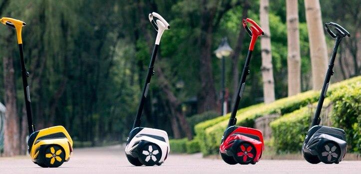 Vehículos eléctricos: patinetes, monociclos... 100% sostenibles