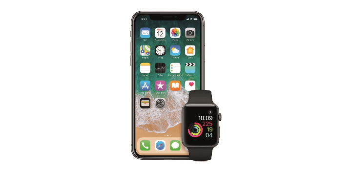 Renting de iPhone x + Apple Watch