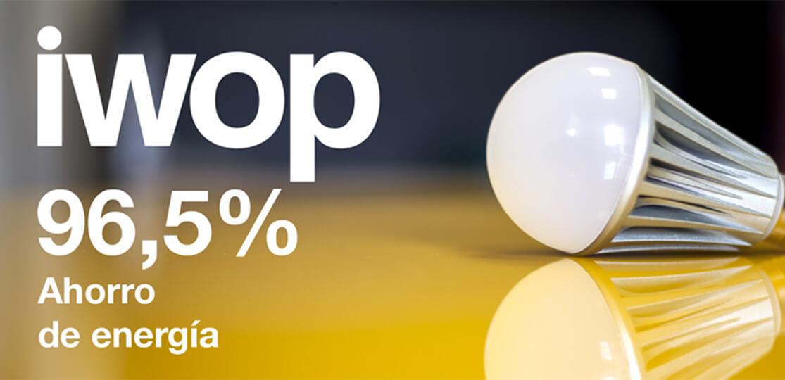 Reduce tus consumos energéticos con la bombilla IWOP