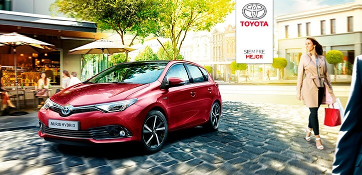 Renting de coches Toyota de alta gama e híbridos