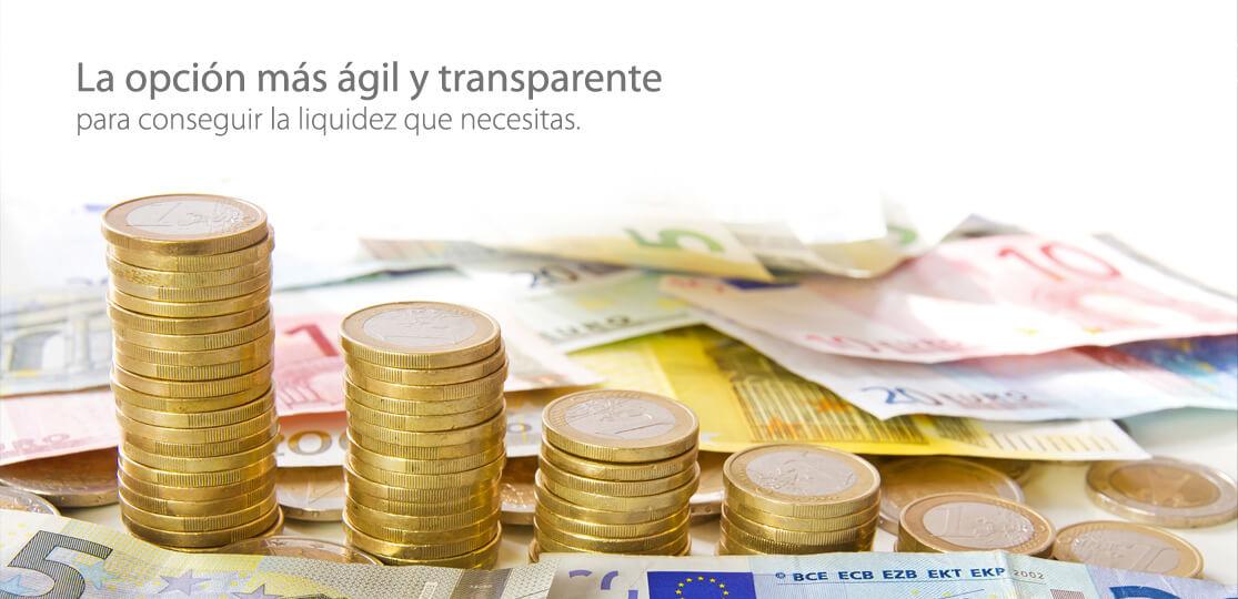 Financiación ágil y transparente