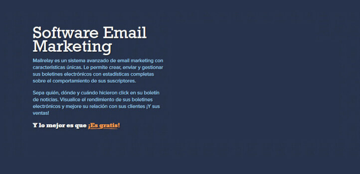 Email marketing con descuento en los planes prepago Enterprise