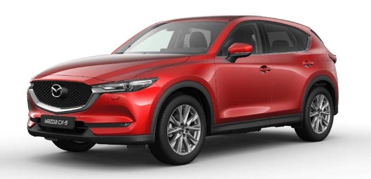 Renting de Mazda CX-5