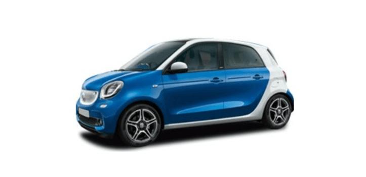 Renting de Smart Forfour Electric Drive