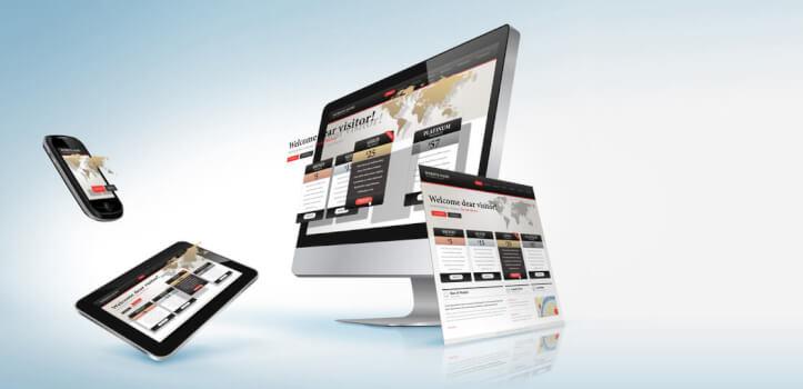 Webs corporativas y tiendas online<br>