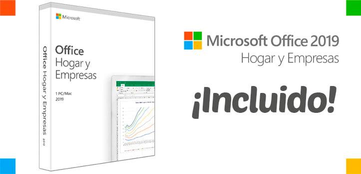 Microsoft Surface GO ¡con Office 2019 valorado en 299 € incluido!