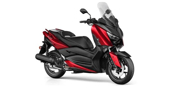 Renting de Yamaha XMAX