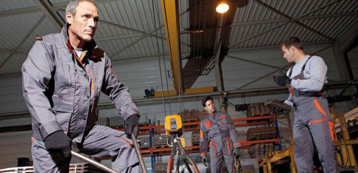 Vestuario laboral y técnico con Modyf