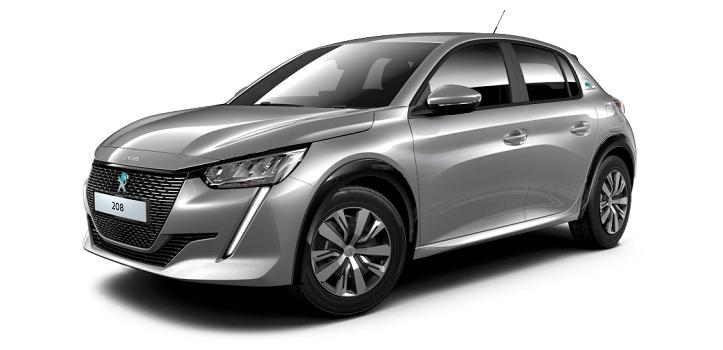 Renting de Peugeot e-208 eléctrico