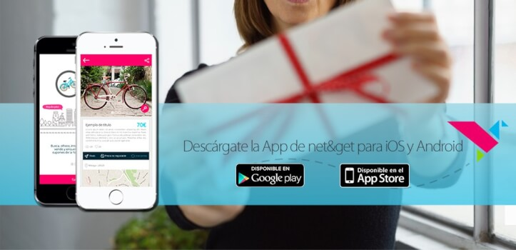 Promociona tus productos en Net&Get, la app de cupones de descuento