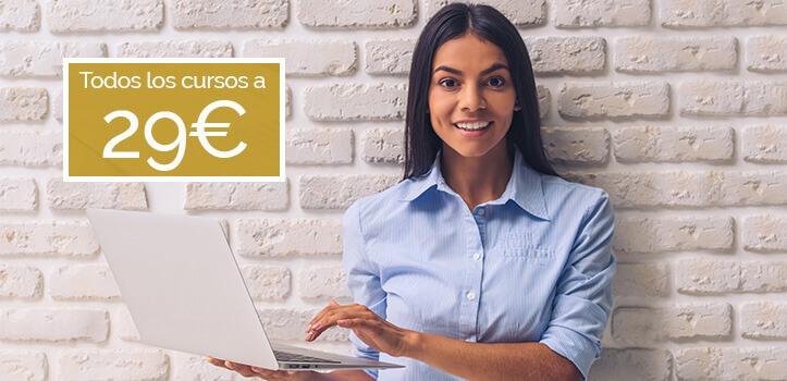 Cursos 100% online para ti y para tu empresa