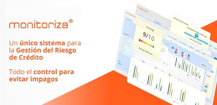 monitoriza®, todo el control de tus clientes para evitar impagos