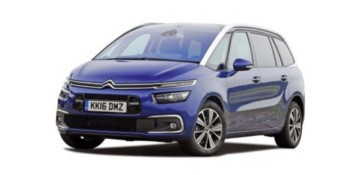 Renting de Citroën Grand C4 Spacetourer
