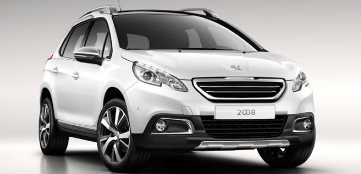 Renting de Peugeot 2008 BlueHDI