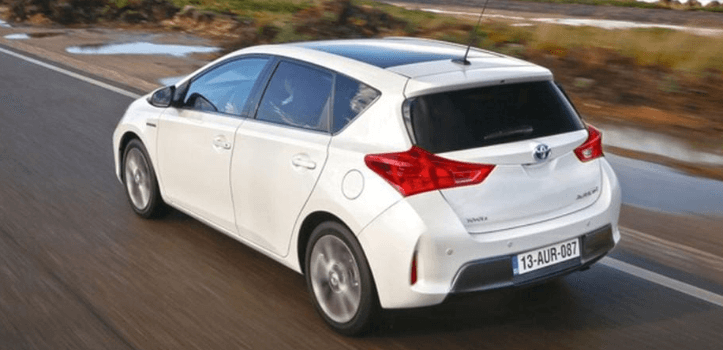 Renting de Toyota Auris Hybrid