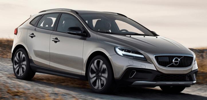 Renting de Volvo V40 Cross Country