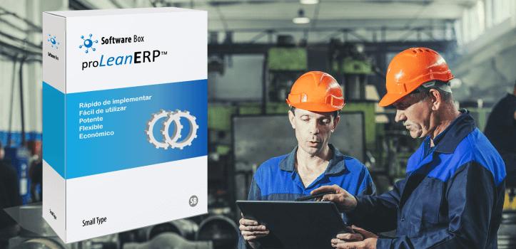 Software para el control de producción y ERP