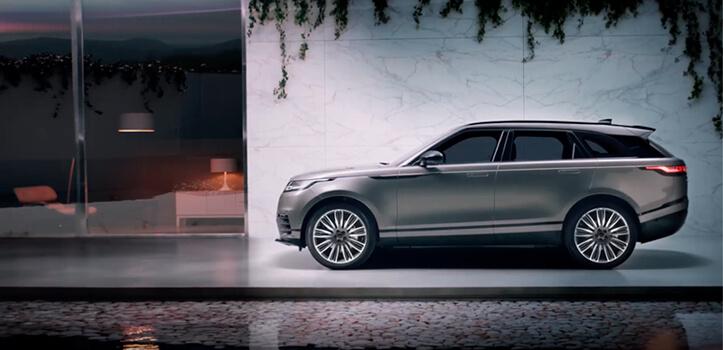 Renting de Range Rover Velar