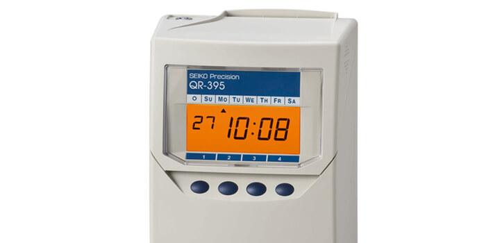 Reloj de fichar para tu empresa - Modelo SEIKO QR 395